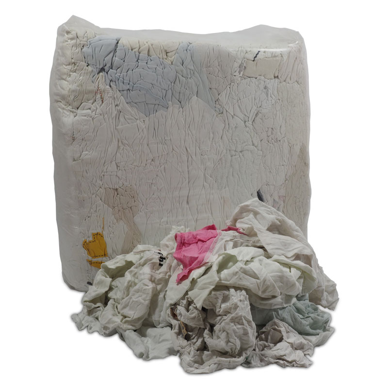 Industrial rags - White