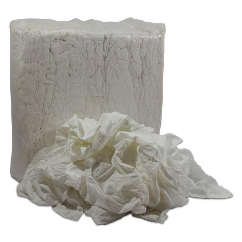 Industrial rags - White linen